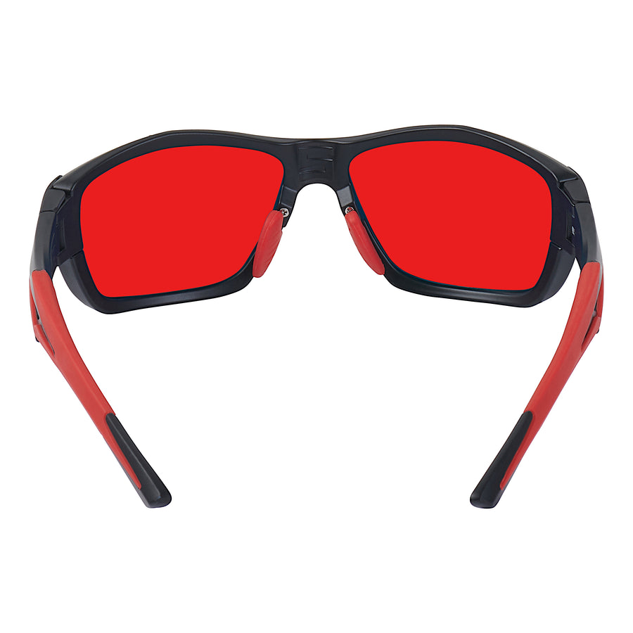 Matte Black/Red (Red Lenses)