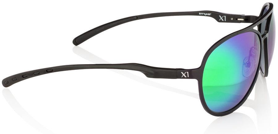 X1 - Matte Black (Green Lenses)