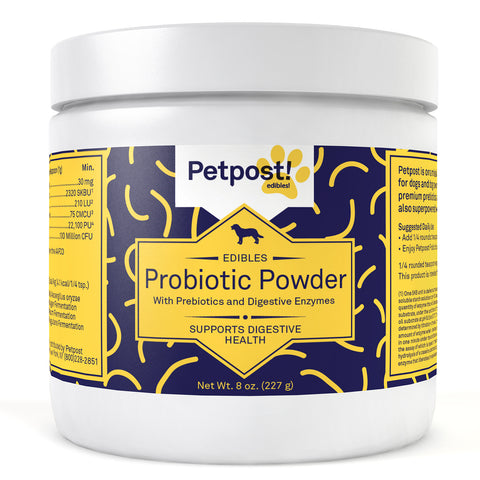 Best Probiotic For Dogs | Prebiotics & Digestive Enzymes - Petpost