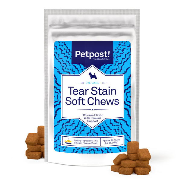Dog Tear Stain Remover complement - Soft Chews for dogs