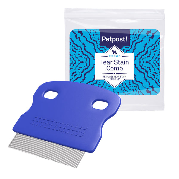 Dog Tear Stain Remover Pack with Coconut - Stain Comb