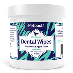 petpost dental wipes for dogs with bad breath