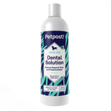 canine dental solution water additive for dogs by petpost