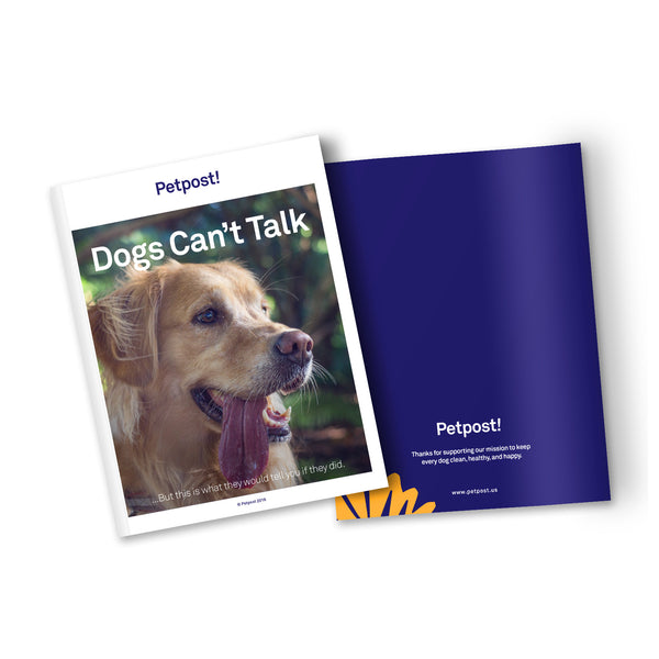 Dogs Can't Talk - Ebook Download - Cover