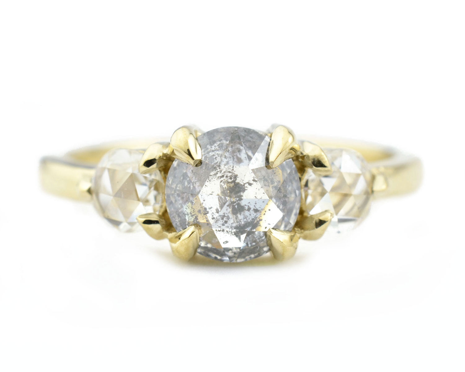 Custom Design: A Modern Three Stone Ring For Meg