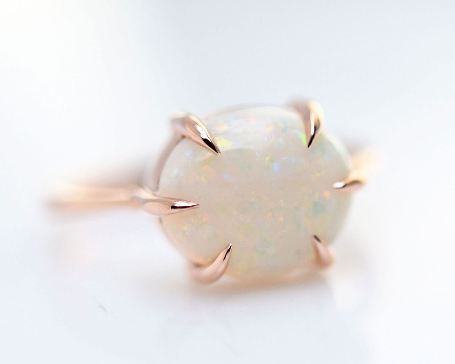 Opal ring, October birthstone