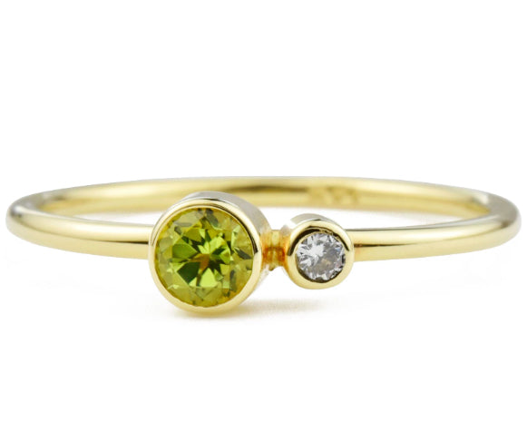 August birthstones peridot & spinel