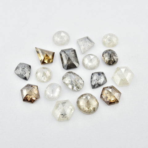 Salt and Pepper Diamonds Available for Custom Engagement Rings