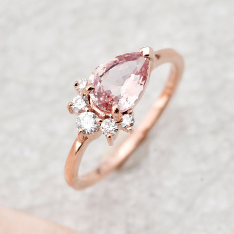 Sapphire is a durable alternative to morganite