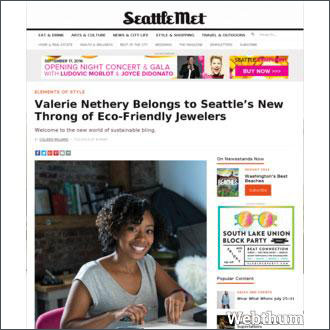 LilyEmme Jewelry featured on Seattle Met!