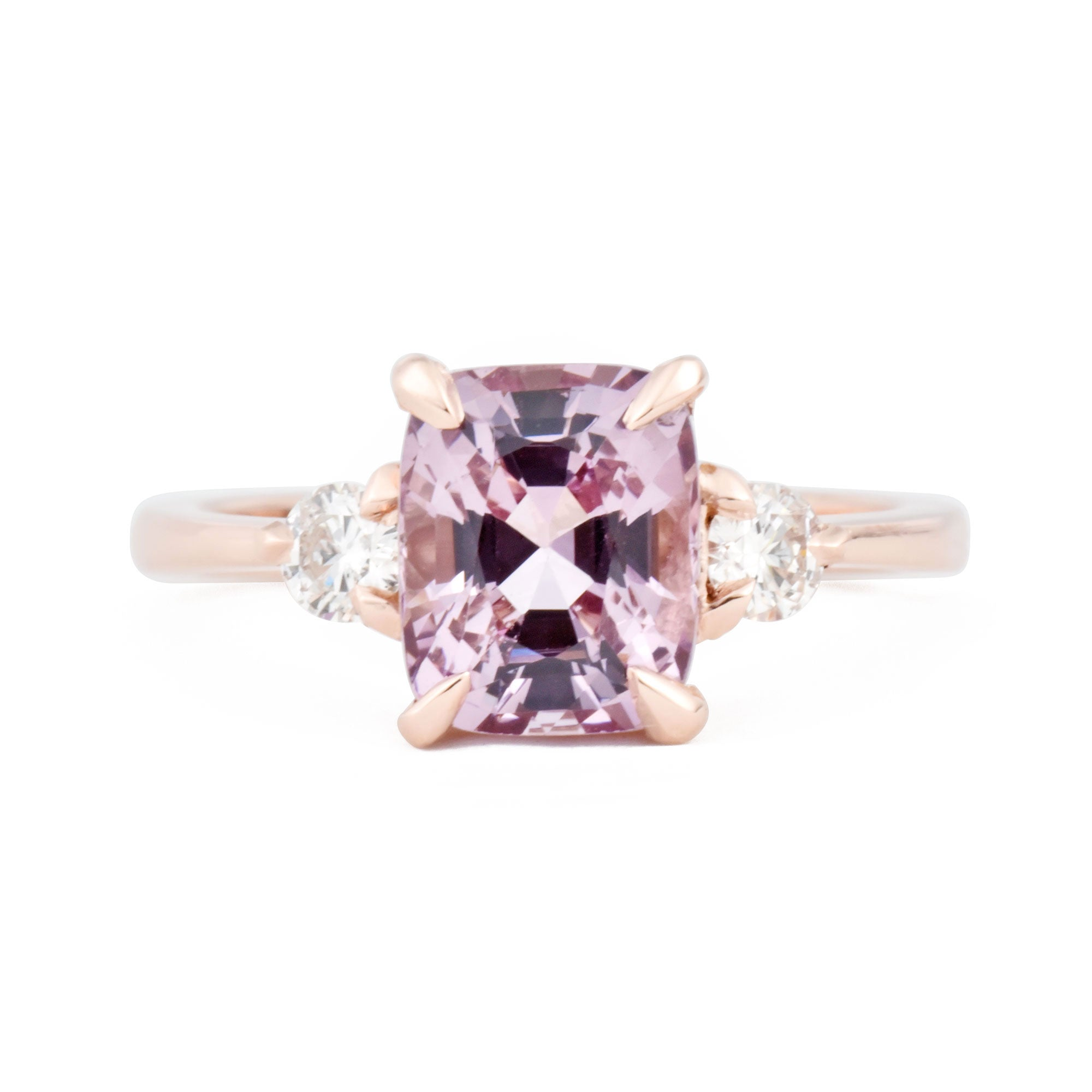 2ct Zara Lilac Spinel & Diamond Engagement Ring