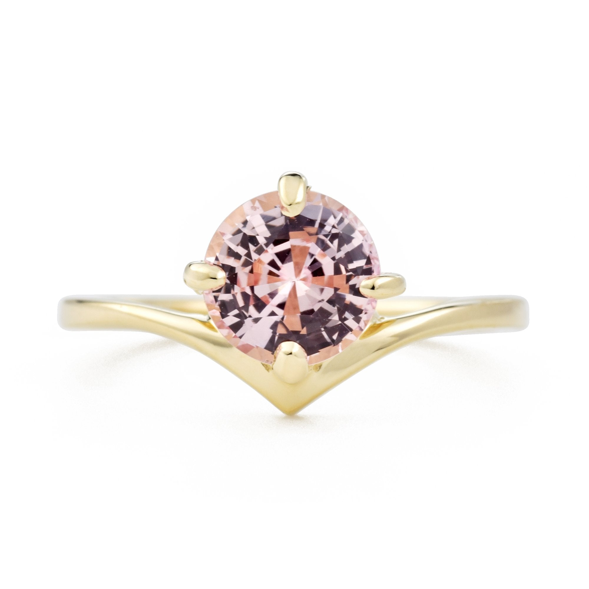 1.5ct Pink Sapphire SuperNova Engagement Ring