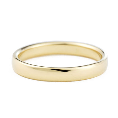 3mm Classic Domed Wedding Band