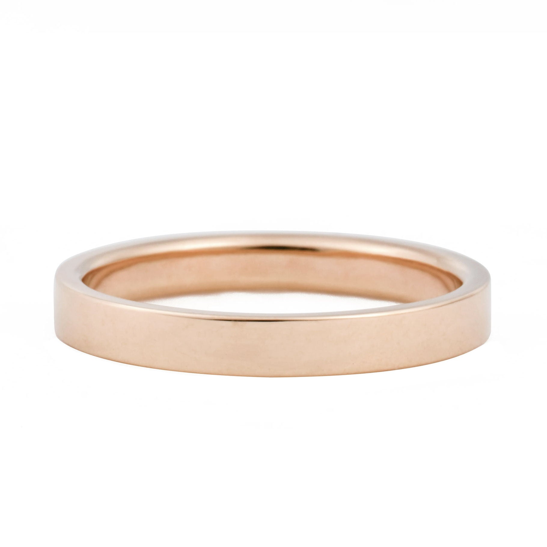 3mm Flat Wedding Band