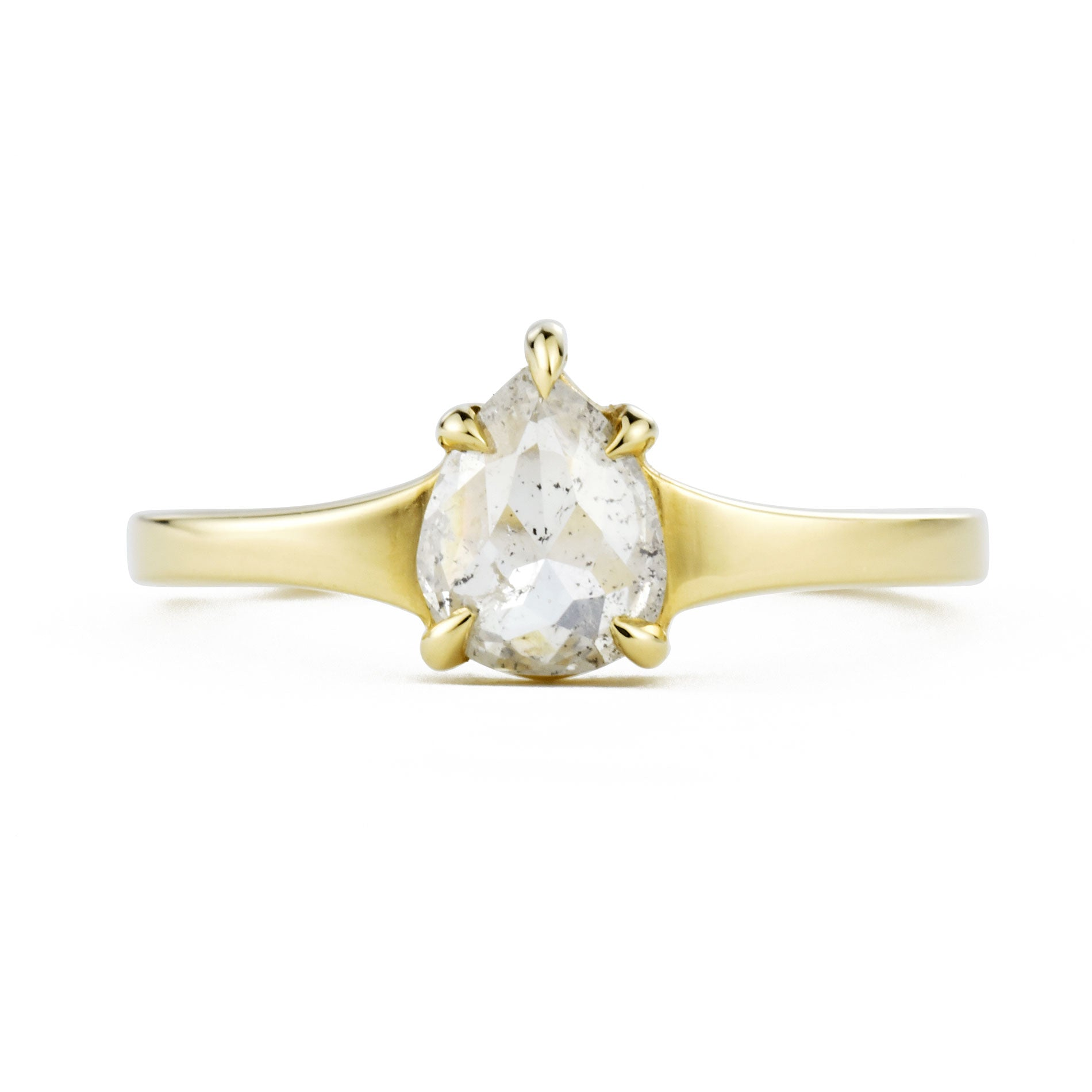 0.79ct Astrid Gray Diamond Ring