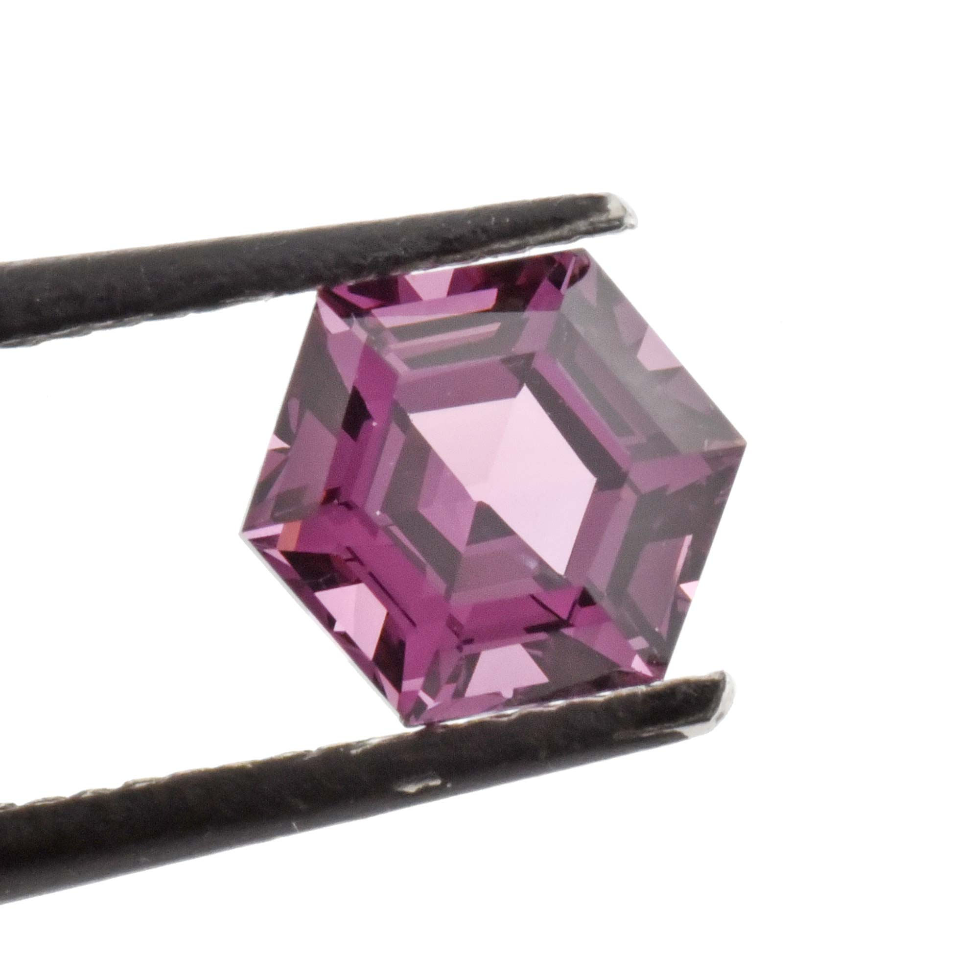 1.75ct Purple Brilliant Cut Hexagon Spinel, 6.70mm