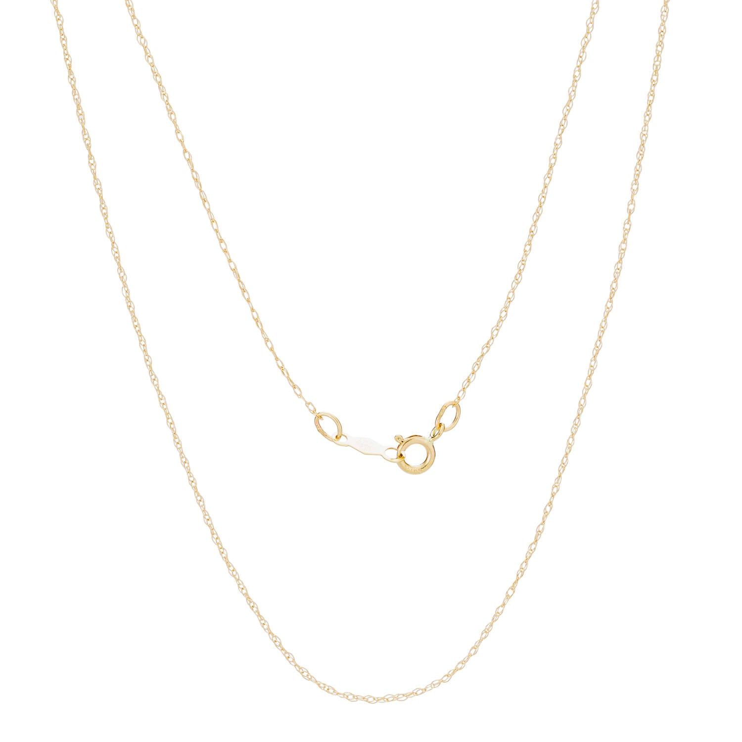 14K Gold Baby Rope Chain