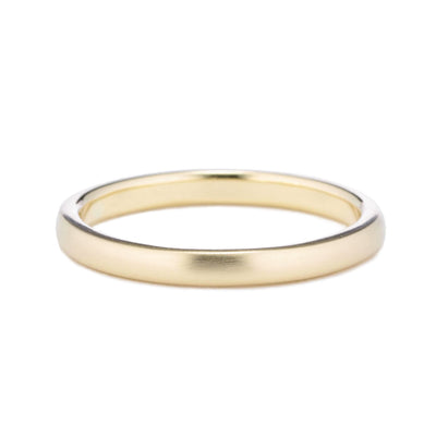 2mm Classic Domed Wedding Band