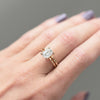 Vera 1.75ct Emerald Cut Moissanite Solitaire Engagement Ring