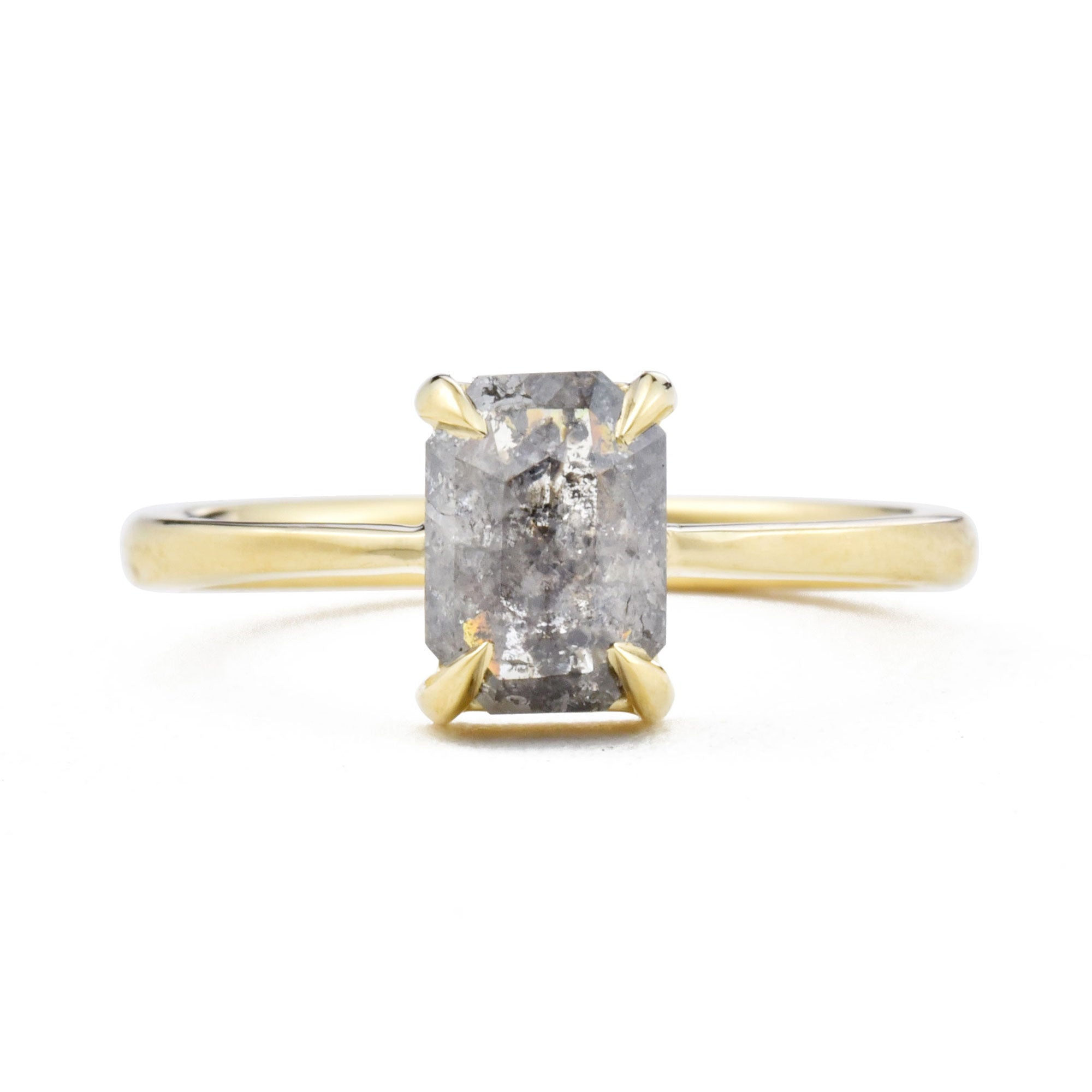 Eva Salt & Pepper Octagon Diamond