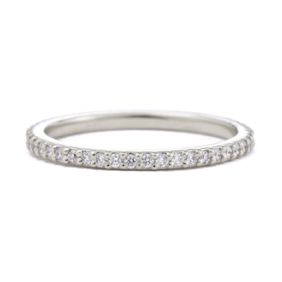 Dainty Mia Full Eternity Diamond Wedding Band