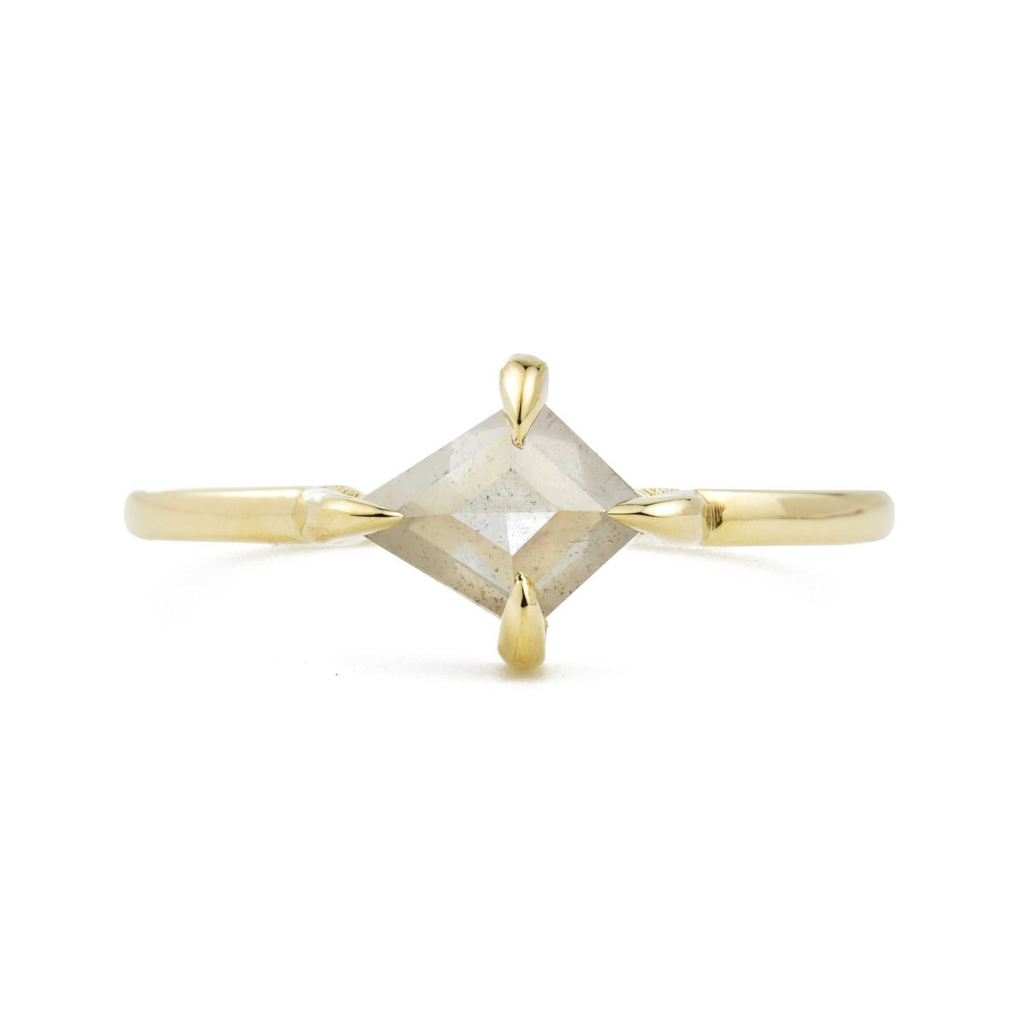 Eva Gray Kite Diamond Engagement Ring