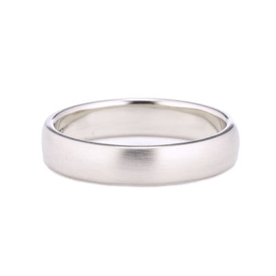 4mm Classic Domed Wedding Band