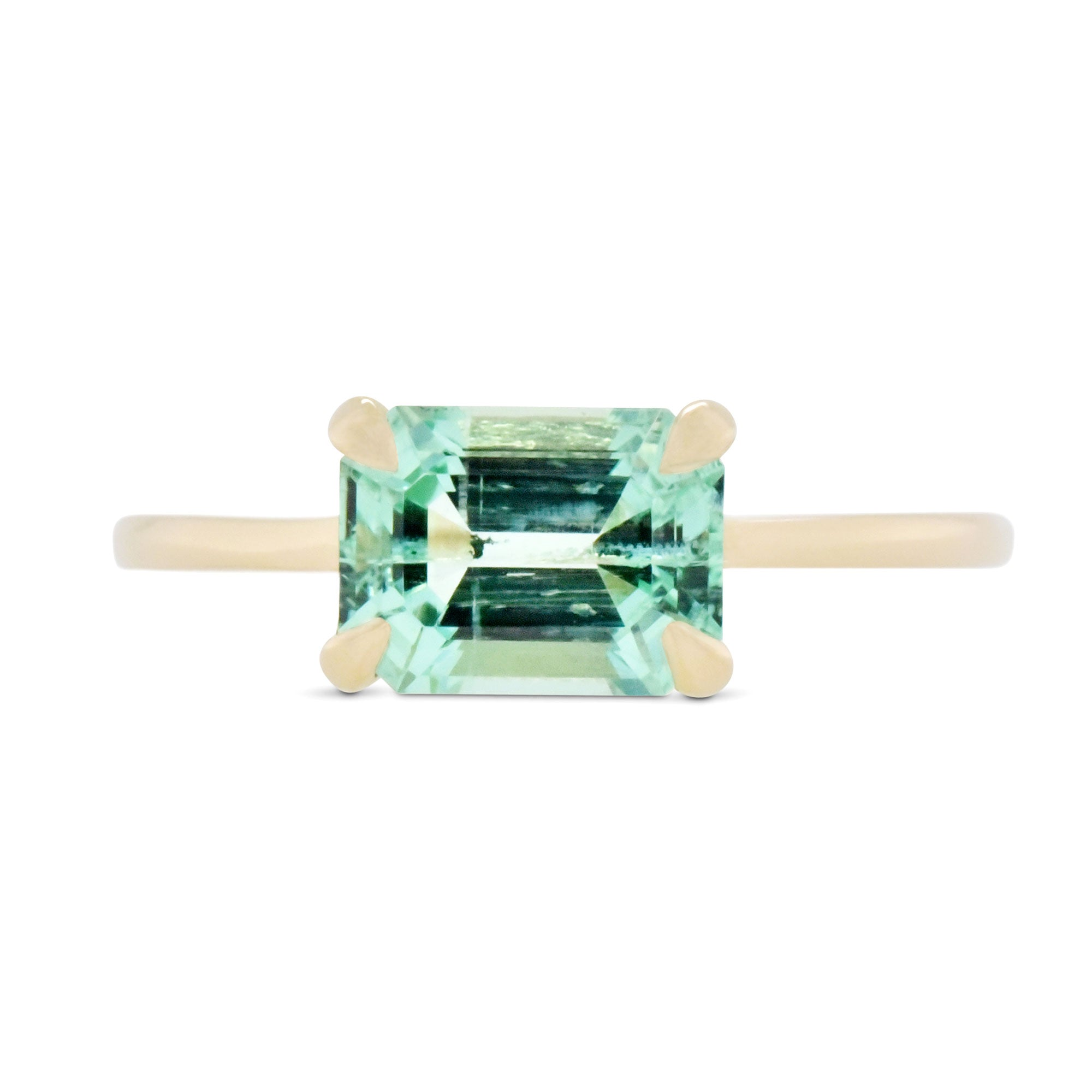 1.54ct Eva Russian Emerald Ring