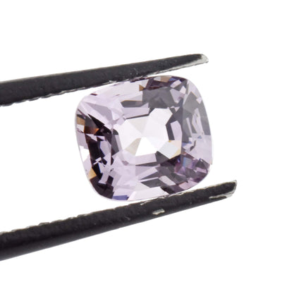 1.82ct Cushion Cut Lavender Spinel, 7.68x6.91mm