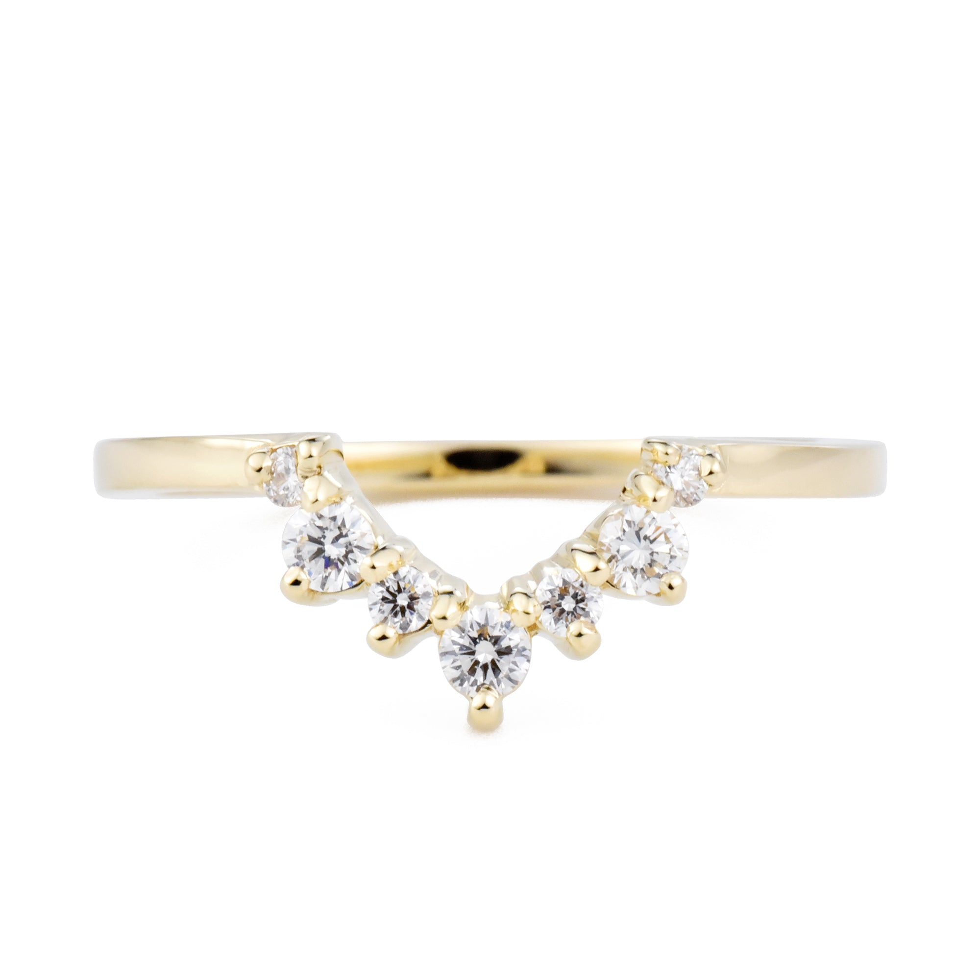 Princesa Diamond Contour Band