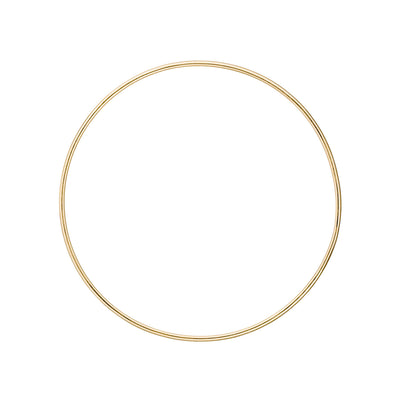 14K Gold Thin Bangle