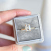 1.75ct Vera Emerald Cut Moissanite Solitaire Engagement Ring