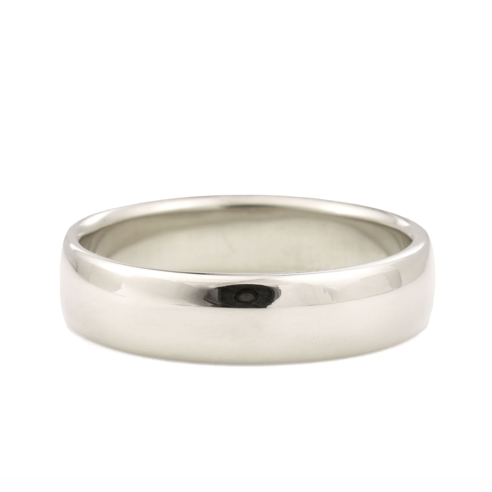 5mm Classic Domed Wedding Band