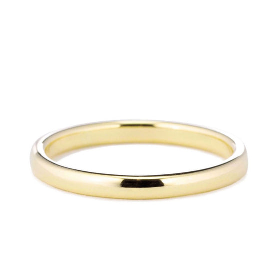 Classic Domed Wedding Band 2mm