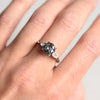 2.23ct Zara Salt & Pepper Diamond Engagement Ring
