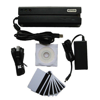 MSR606 - Magnetic Stripe Card Reader Writer Encoder