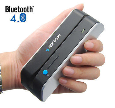 MSRX6BT - Bluetooth Magnetic Stripe Card Reader/Writer - New Bluetooth version of MSRX6
