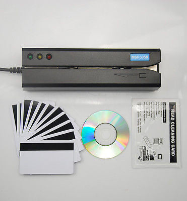 MSR605X - Magnetic Stripe Card Reader Writer Encoder Next Gen of MSR605