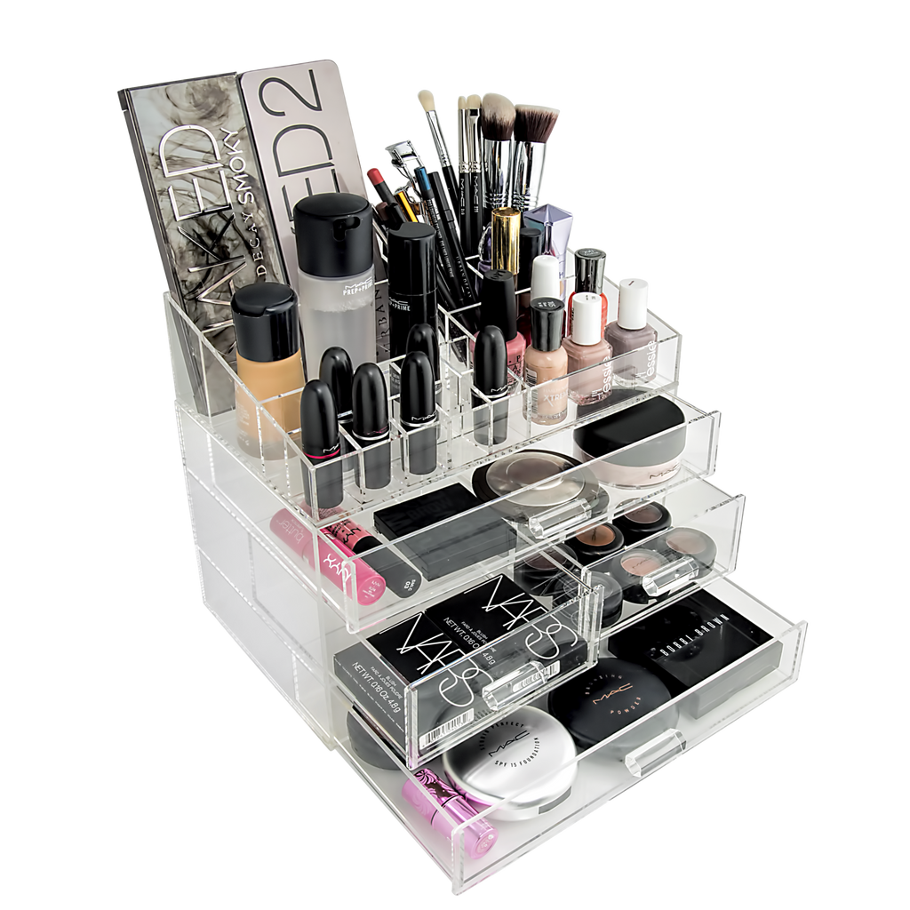 Chic box perfect make up organizer for any kind of make - Boite rangement plexi transparent ...