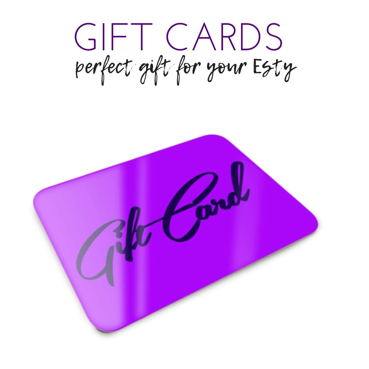 Gift Cards For Esthetician's
