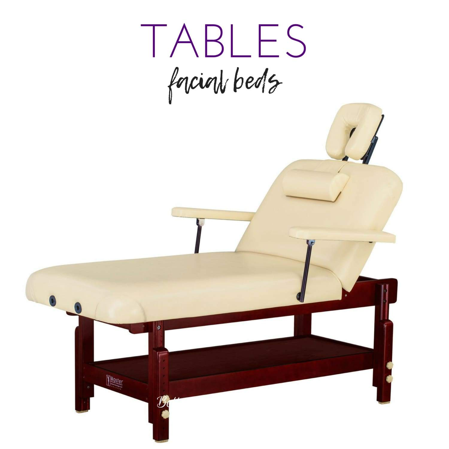 Portable tables, facial tables, portable chairs