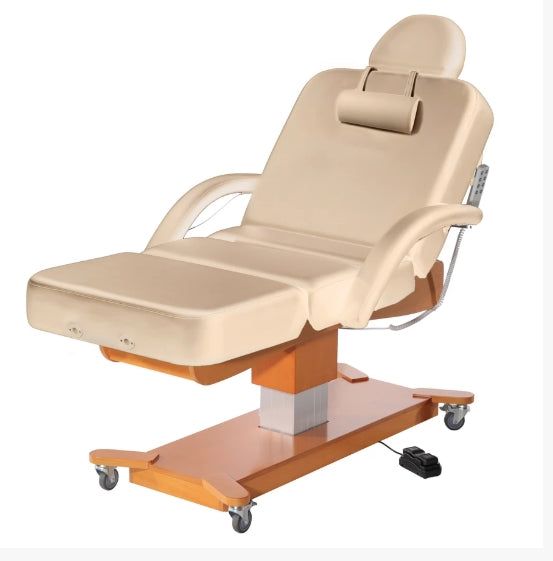 Tan Electric Facial Bed