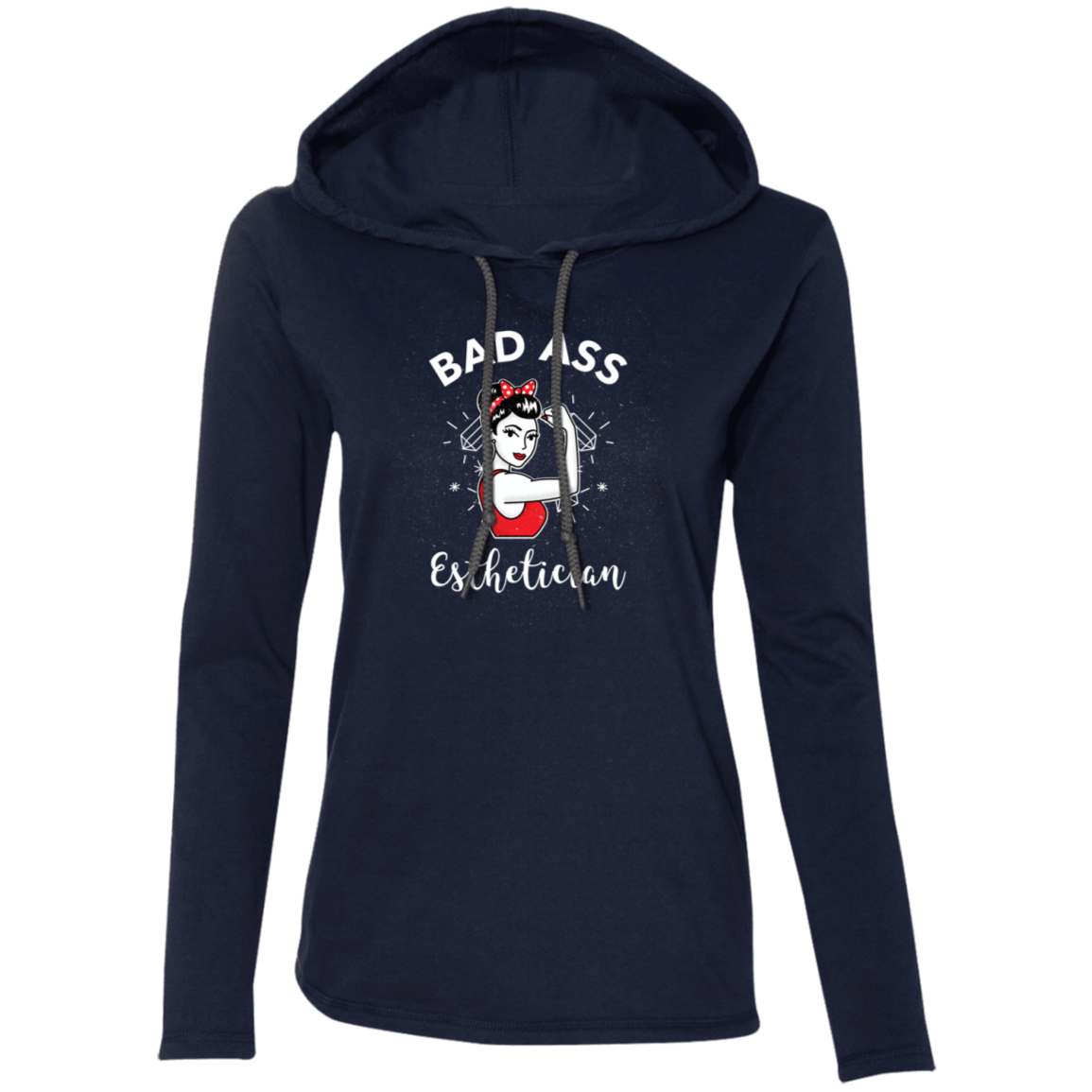 Bad A$$ Esthetician Long Sleeve
