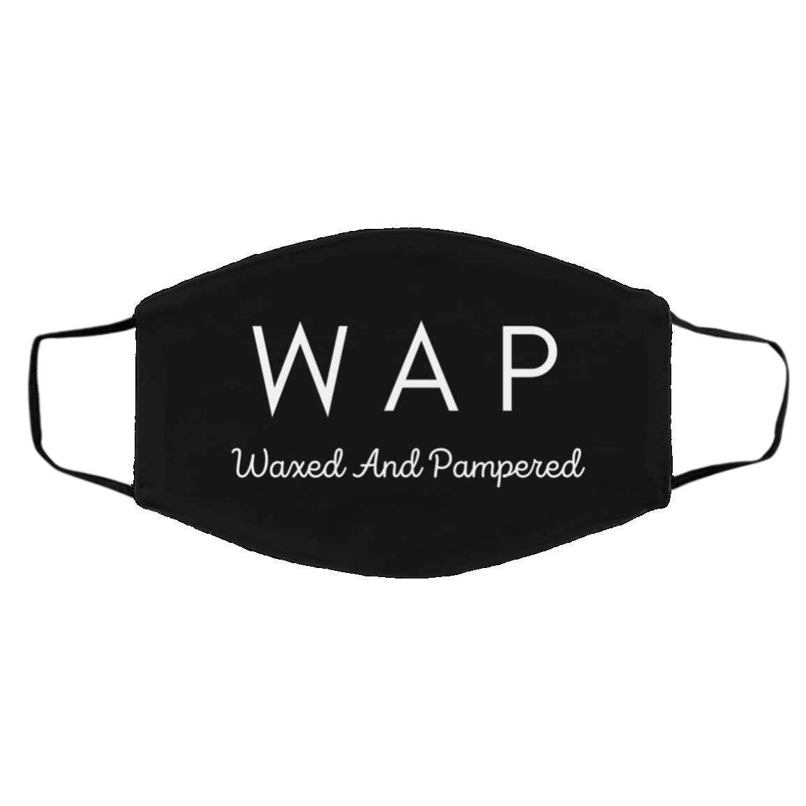 Waxed and Pampered WAP Face Mask