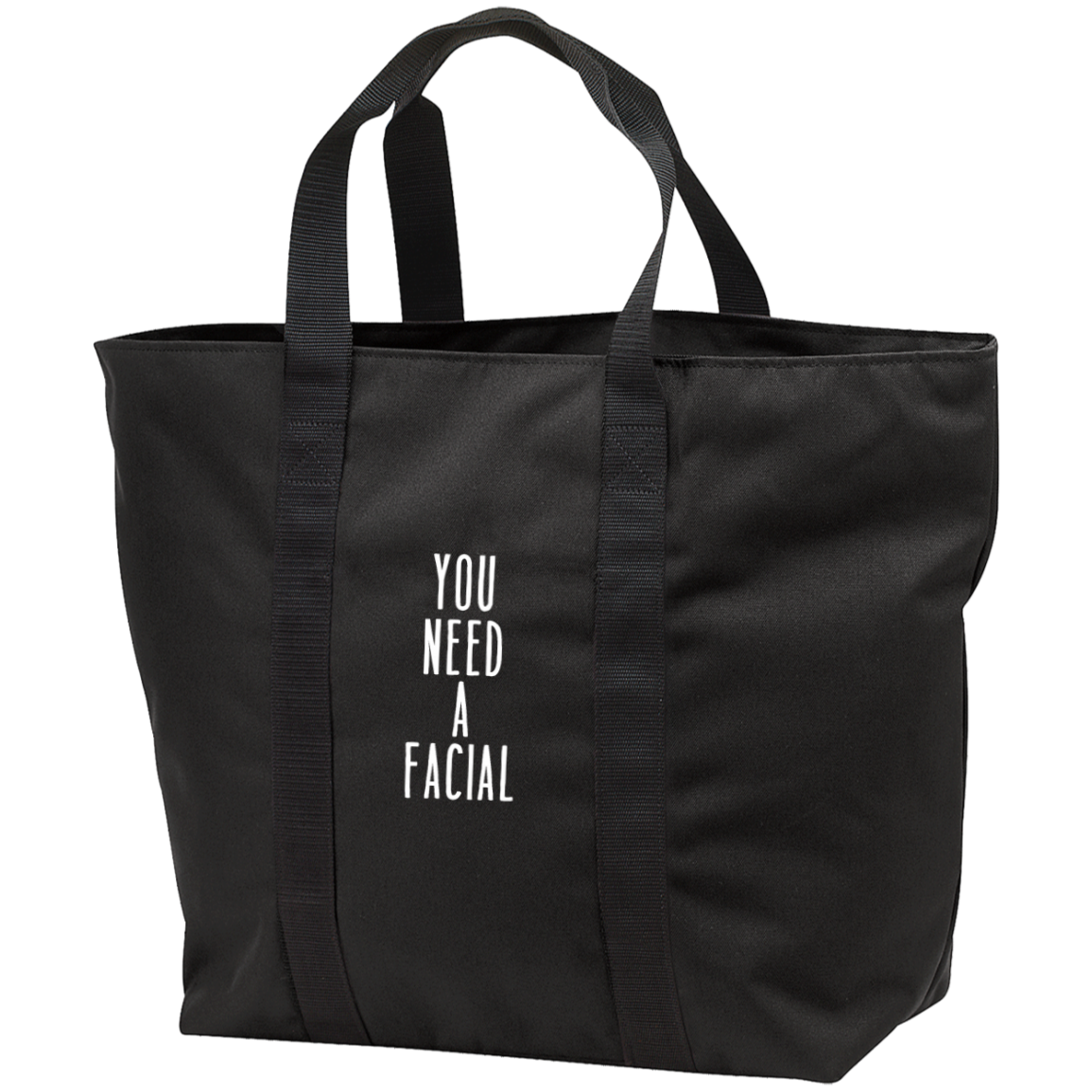 You Need a FacialTote Bag