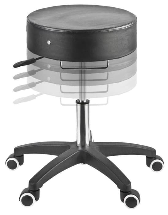 Adjustable Rolling Stool For Estheticians