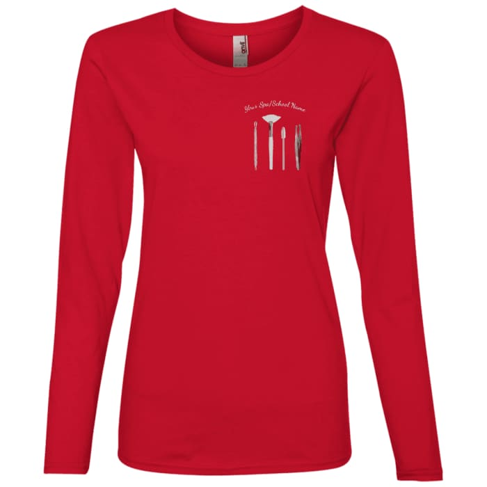 Customized Esty Tools Shirts - Longsleeve - Red / Small - T-Shirts