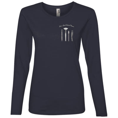 Customized Esty Tools Shirts - Longsleeve - Navy / Small - T-Shirts
