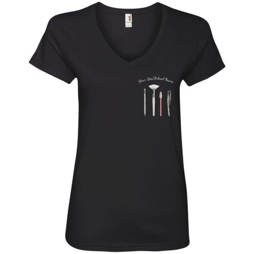 Customized Esty Tools V-Neck - Black / Small - T-Shirts