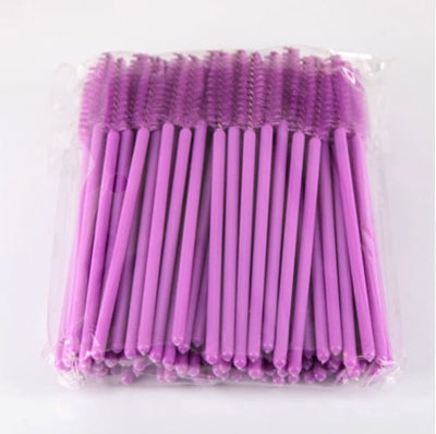 Disposable Mascara Wands - Magenta - Esthetician Supplies